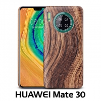 Huawei Mate 30 Woody Patterned Back Case