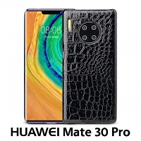 Huawei Mate 30 Pro Crocodile Leather Back Case