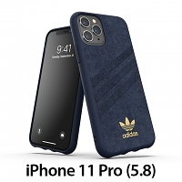 Adidas Moulded Case Ultrasuede FW19 (Collegiate Royal) for iPhone 11 Pro (5.8)