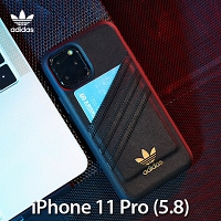 Adidas Moulded Case PU Premium FW19 (Black/Gold) for iPhone 11 Pro (5.8)