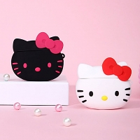 3D Hello Kitty Head AirPods Case