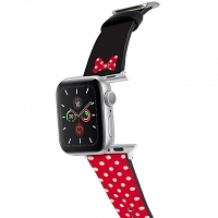 Disney Minnie Leather Watch Band for Apple Watch 1~5 series
