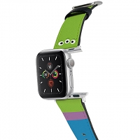 Disney Toy Story - Alien Leather Watch Band for Apple Watch 1~5 series