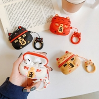 3D Lucky Cat AirPods Pro Case