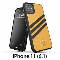 Adidas Moulded Case PU Woman SS20 (Gold/Black) for iPhone 11 (6.1)