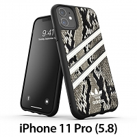 Adidas Moulded Case PU Woman SS20 (Black/Alumina) for iPhone 11 Pro (5.8)