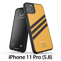 Adidas Moulded Case PU Woman SS20 (Gold/Black) for iPhone 11 Pro (5.8)