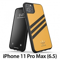Adidas Moulded Case PU Woman SS20 (Gold/Black) for iPhone 11 Pro Max (6.5)