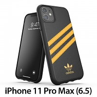 Adidas Moulded Case PU Woman SS20 (Black/Collegiate Gold) for iPhone 11 Pro Max (6.5)
