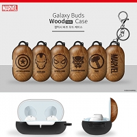 Wood Marvel Series Samsung Galaxy Buds Case