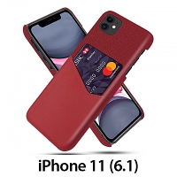 iPhone 11 (6.1) Two-Tone Leather Case with Card Holder