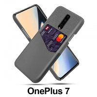 OnePlus 7 Two-Tone Leather Case with Card Holder