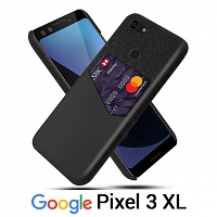 Google Pixel 3 XL Two-Tone Leather Case with Card Holder