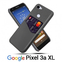 Google Pixel 3a XL Two-Tone Leather Case with Card Holder