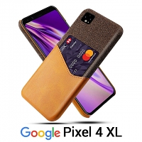 Google Pixel 4 XL Two-Tone Leather Case with Card Holder