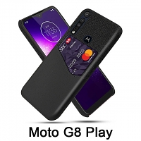 Motorola Mote G8 Play Two-Tone Leather Case with Card Holder