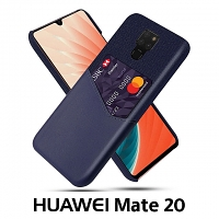 Huawei Mate 20 Two-Tone Leather Case with Card Holder