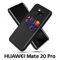 Huawei Mate 20 Pro Two-Tone Leather Case with Card Holder