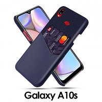 Samsung Galaxy A10s Two-Tone Leather Case with Card Holder