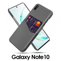 Samsung Galaxy Note10 Two-Tone Leather Case with Card Holder