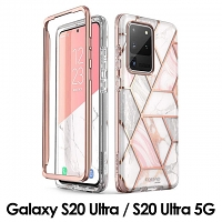 i-Blason Cosmo Slim Designer Case (Pink Marble) for Samsung Galaxy S20 Ultra / S20 Ultra 5G