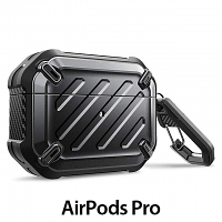 Supcase Unicorn Beetle Pro Rugged Case with Carabiner for Apple AirPods Pro