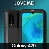 LOVE MEI Samsung Galaxy A70s Powerful Bumper Case