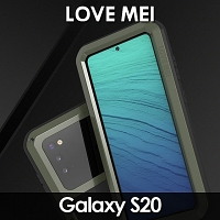 LOVE MEI Samsung Galaxy S20 Powerful Bumper Case