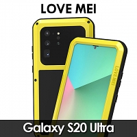 LOVE MEI Samsung Galaxy S20 Ultra Powerful Bumper Case