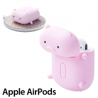 Elecom 3D Animal - Piggy Silicone AirPods Case