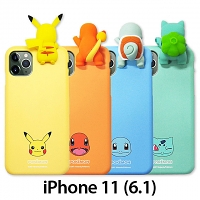 3D Pokemon Series Soft Case for iPhone 11 (6.1)