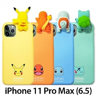 3D Pokemon Series Soft Case for iPhone 11 Pro Max (6.5)