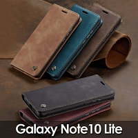 Samsung Galaxy Note10 Lite Retro Flip Leather Case