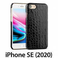 iPhone SE (2020) Crocodile Leather Back Case