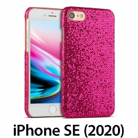 iPhone SE (2020) Glitter Plastic Hard Case