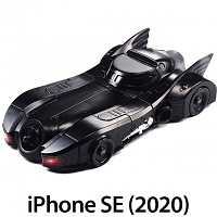 Crazy Case Batmobile Tumbler II Case for iPhone SE (2020)