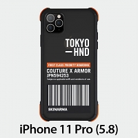 Skinarma Matte Case (Bando Sheer Orange) for iPhone 11 Pro (5.8)