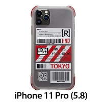Skinarma Matte Airport Boarding Pass Ticket Case (Tokyo) for iPhone 11 Pro (5.8)