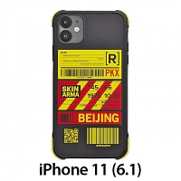 Skinarma Matte Airport Boarding Pass Ticket Case (Beijing) for iPhone 11 (6.1)