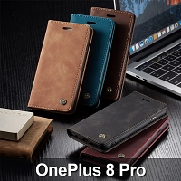 OnePlus 8 Pro Retro Flip Leather Case