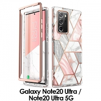 i-Blason Cosmo Slim Designer Case (Pink Marble) for Samsung Galaxy Note20 Ultra / Note20 Ultra 5G