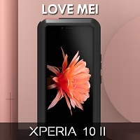 LOVE MEI Sony Xperia 10 II Powerful Bumper Case