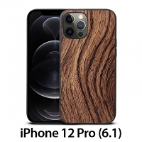 iPhone 12 Pro (6.1) Woody Patterned Back Case
