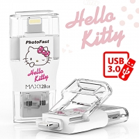 PhotoFast MAX Hello Kitty i-FlashDrive (USB 3.0)
