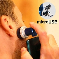 microUSB Magnetic Mini Travel Shaver