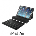 iPad Air Reclosable Fastener Case with Bluetooth Keyboard