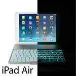 Illuminated Bluetooth Keyboard for iPad Air