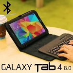 Samsung Galaxy Tab 4 8.0 Reclosable Fastener Case with Bluetooth Keyboard