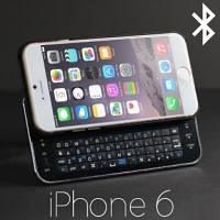 iPhone 6 Ultra-thin Slide-out Bluetooth Backlight Keyboard