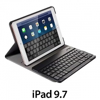 iPad 9.7 Ultra-Thin Bluetooth Keyboard Case